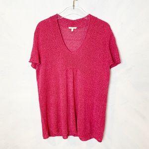 Eileen Fisher Short Sleeve Linen Sweater